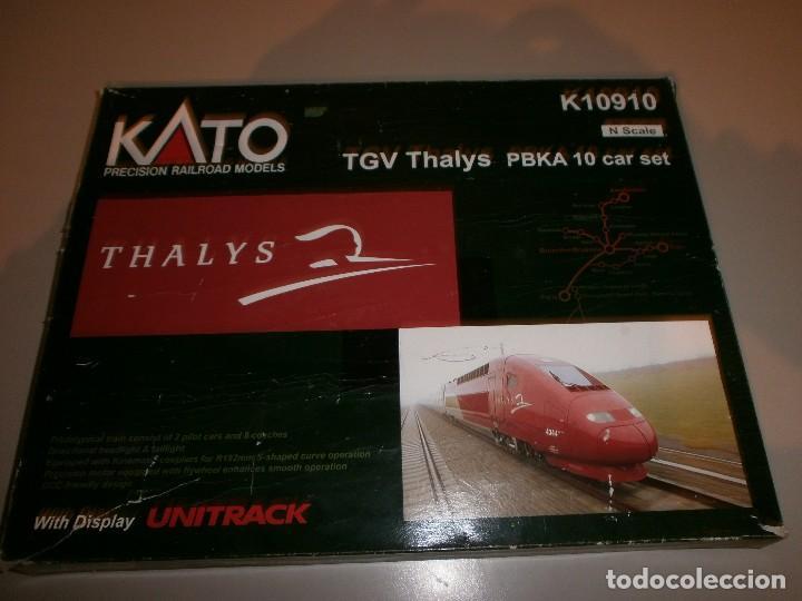 MARCA KATO TREN THALYS SCALE N (Juguetes - Trenes Escala N - Otros Trenes Escala N)