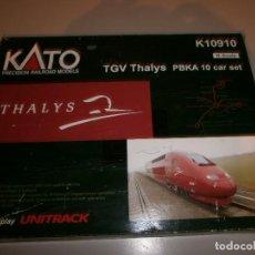 Trenes Escala: MARCA KATO TREN THALYS SCALE N . Lote 115007211
