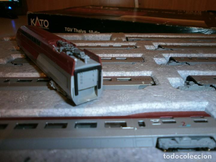 Trenes Escala: marca kato tren thalys scale n - Foto 10 - 115007211