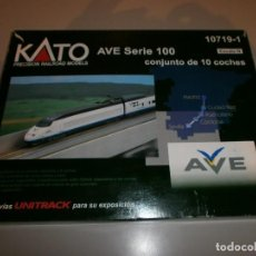 Trenes Escala: MARCA KATO TREN AVE SERIE 100 SCALE N VER FOTOS. Lote 115007659