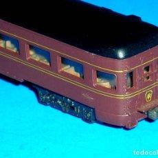 Trenes Escala: COCHE PASAJEROS COLA Cª PENNSYLVANIA, CON LUZ, ATLAS RIVAROSSI ESC. N, MADE IN ITALY, ORIGINAL 1970.. Lote 117470203