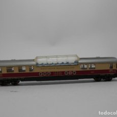 Trenes Escala: VAGÓN PASAJEROS DE LA DB ESCALA N DE MINITRIX CON LUZ . Lote 118625283