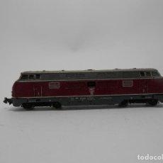Trenes Escala: LOCOMOTORA DIESEL DE LA DB ESCALA N DE MINITRIX . Lote 118625507