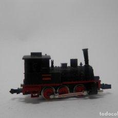 Trenes Escala: LOCOMOTORA VAPOR ESCALA N DE MINITRIX . Lote 118676619