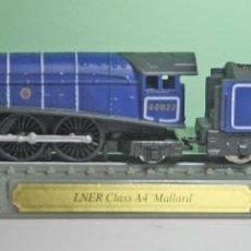 Trenes Escala: LOCOMOTORA UK, LNER CLASS A4 MALLARD - DEL PRADO - ESCALA N - DE EXPOSICIÓN. Lote 125293023
