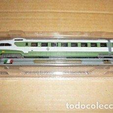 Trenes Escala: LOCOMOTORA ITALIA ETR 300 SETTEBELLO COLECCION DEL PRADO NUEVO EN SU BLISTER. Lote 125966579