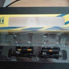 Trenes Escala: REE MODELS NW-042 SET- ESC. N - VAGON CISTERNA SHELL SIMOTRA - SNCF FRANCIA EP. III - NUEVO. Lote 130831840