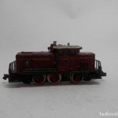 Trenes Escala: LOCOMOTORA DIESEL DE LA DB ESCALA N DE MINITRIX . Lote 133824458