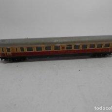 Trenes Escala: VAGÓN RESTAURANTE ESCALA N DE MINITRIX . Lote 133834166