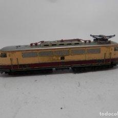 Trenes Escala: LOCOMOTORA ELECTRICA ESCALA N DE MINITRIX. Lote 133834274