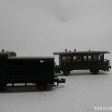 Trenes Escala: LOTE VAGONES ESCALA N DE MINITRIX . Lote 133848950