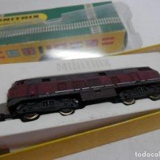Trenes Escala: LOCOMOTORA DIESEL DE LA DB ESCALA N DE MINITRIX . Lote 133850734