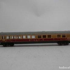 Trenes Escala: VAGÓN RESTAURANTE DE LA DB ESCALA N DE MINITRIX . Lote 133851182