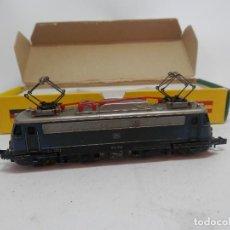 Trenes Escala: LOCOMOTORA ELECTRICA DE LA DB ESCALA N DE MINITRIX . Lote 133851254