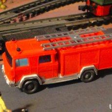 Trenes Escala: CAMIÓN DE BOMBEROS. DE WIKING. Lote 137575854