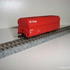 Trenes Escala: MINITRIX N TOLVA DE CARBÓN CARGO 4 EJES (CON COMPRA DE CINCO LOTES O MAS ENVÍO GRATIS). Lote 138203738