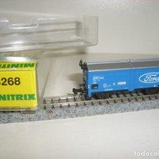 Trenes Escala: MINITRIX N CERRADO FORD 13268 (CON COMPRA DE CINCO LOTES O MAS ENVÍO GRATIS). Lote 138205246