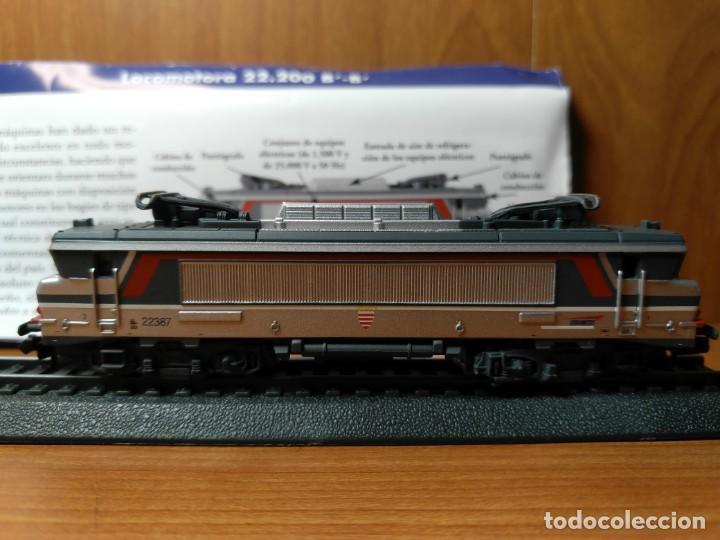 LOCOMOTORA 22.200 SNCF FRANCIA B' B' ESTATICA, ESCALA N - 1/160 (Juguetes - Trenes Escala N - Otros Trenes Escala N)