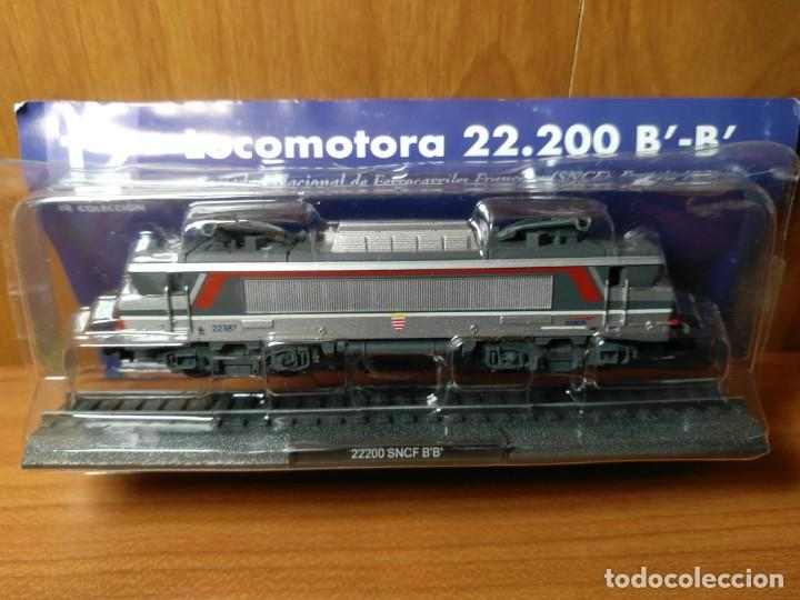 Trenes Escala: LOCOMOTORA 22.200 SNCF FRANCIA B' B' ESTATICA, ESCALA N - 1/160 - Foto 3 - 138633614