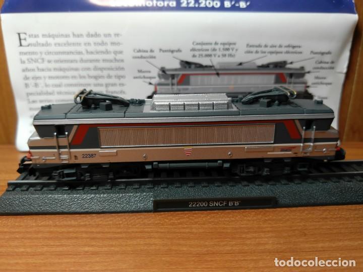 Trenes Escala: LOCOMOTORA 22.200 SNCF FRANCIA B' B' ESTATICA, ESCALA N - 1/160 - Foto 6 - 138633614