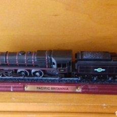 Trenes Escala: LOCOMOTORA PACIFIC BRITANNIA. Lote 140733717