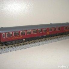 Trenes Escala: MINITRIX N PASAJEROS RESTAURANTE (CON COMPRA DE CINCO LOTES O MAS ENVÍO GRATIS). Lote 141227102