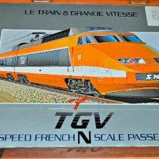 Trenes Escala: TREN TGV ORIGINAL FABRICADO POR BACHMANN. ESCALA N. Lote 142913306