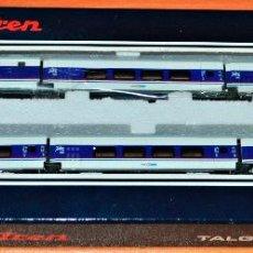 Trenes Escala: TALGO PENDULAR 200 AMTRAK DE ELECTROTREN, ESCALA N. COMPATIBLE IBERTREN.. Lote 142913666