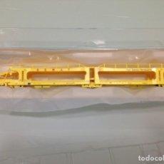 Trenes Escala: TREN, MF TRAIN N33201, VAGÓN PORTACOCHES 3 EJES , SEMAT, LAEKS 43 71 427 0 040-4. Lote 143053834