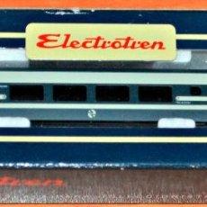 Trenes Escala: COCHE TALGO PENDULAR 2ª CLASE DE ELECTROTREN. ESCALA N, COMPATIBLE CON IBERTREN. Lote 143072386