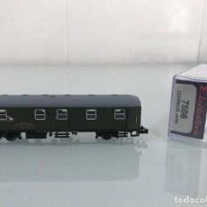 Trenes Escala: TREN,ELECTROTREN 7508,COCHE 2 EJES, RENFE, DGCT-163, DIRECCIÓN GENERAL DE CORREOS Y TELÉGRAFOS. Lote 143077162