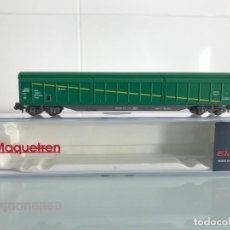 Trenes Escala: TREN,ELECTROTREN 7720K,VAGÓN CERRADO DE BOGIES,CARGAS RENFE AGRICOLA,MAQUETREN 2008, JJ2V 2006. Lote 143078406