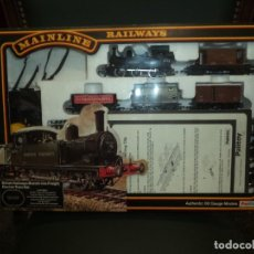 Trenes Escala: TREN ELECTRICO MAINLINE MADE IN HONG KONG PALITOY. Lote 143183294