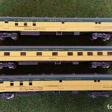 Trenes Escala: ATLAS RIVAROSSI LOTE DE 3 VAGONES CHICAGO AND NORTH WESTERN ESCALA N. Lote 143258250