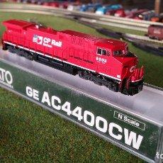 Trenes Escala: KATO LOCOMOTORA GE AC4400CW CP RAIL #9502 ESCALA N. Lote 143275638