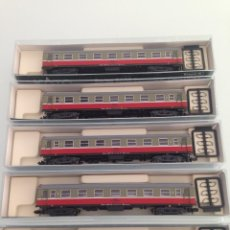 Trenes Escala: TREN,KATO 156-2003-2004-2005-LOTE 5 COCHES 5000 RENFE-LUCKY, B7-6217,B7-6240,B7-6236. Lote 143317250