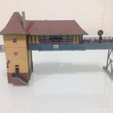 Trenes Escala: TREN, KIBRI 37811, PUENTE DE ENCLAVAMIENTO KREFELD. Lote 173149578