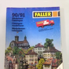 Trenes Escala: TREN, CATALOGO FALLER 1990-1991, HO, N, Z , 245 PAGINAS. Lote 144259414