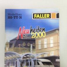 Trenes Escala: TREN, CATALOGO FALLER 2000 NOVEDAD, HO-TT-N, 28 PAGINAS. Lote 144259878