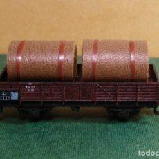 Trenes Escala: N - TRIX - VAGON DE BORDE MEDIO CON CARGA. Lote 144913394