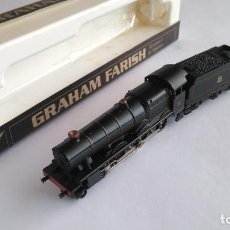 Trenes Escala: GRAHAM FARISH LOCOMOTORA VAPOR CON TENDER, VÁLIDA IBERTREN. Lote 145539398