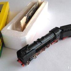 Trenes Escala: TRIX MINITRIX LOCOMOTORA VAPOR CON TENDER , VÁLIDA IBERTREN 2N. Lote 145564722
