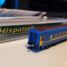 Trenes Escala: COCHE RENFE ESCALA N VIAJEROS SERIE 9.200 HISPATREN NºREF.906005-01. Lote 148647266