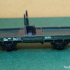 Trenes Escala: N - TRIX - VAGON DE APOYO DE GRUA. Lote 148853262