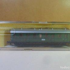 Trenes Escala: N - TRIX - VAGON DE PASAJEROS DE 3ª CLASE - CON CAJA ORIGINAL. Lote 149500294