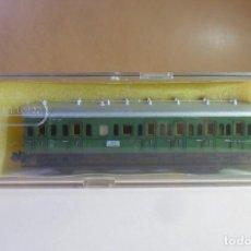 Trenes Escala: N - TRIX - VAGON DE PASAJEROS DE 2ª Y 3ª CLASE - CON CAJA ORIGINAL. Lote 149501366