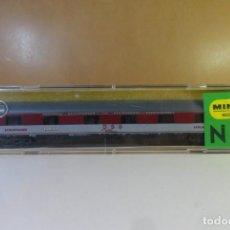 Trenes Escala: N - TRIX - VAGON COCHE CAMAS Y RESTAURANTE - D S G - CON CAJA ORIGINAL. Lote 149724106