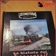 Trenes Escala: MER 1 - TRENES A ESCALA N - FASCICULOS LA HISTORIA DEL FERROCARRIL - LOCOMOTORAS DE COLECCIÓN. Lote 150798614