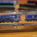 Trenes Escala: MER 36 - TRENES A ESCALA N - LOCOMOTORAS DE COLECCIÓN - PACIFIC A4 MALLARD. Lote 150813770