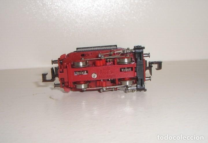 Trenes Escala: MINITRIX N locomotora vapor 98-307 GlasKasten (Con compra de 5 lotes o mas envío gratis) - Foto 3 - 150985902
